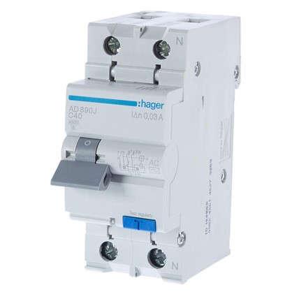 Дифференциальный автомат Hager 1 полюс 40 А
