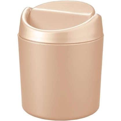 Купить Бак для мусора Бален 0.75 л цвет бежевый дешевле