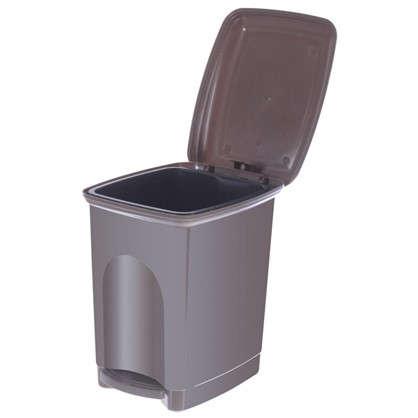 Купить Бак для мусора с педалью Каплен 7 л дешевле