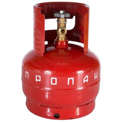 Баллон для газа бытовой 5 л металл