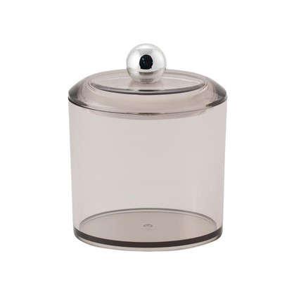 Баночка косметическая Cotto пластик цвет дымчатый