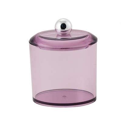 Баночка косметическая Cotto пластик цвет фиолетовый