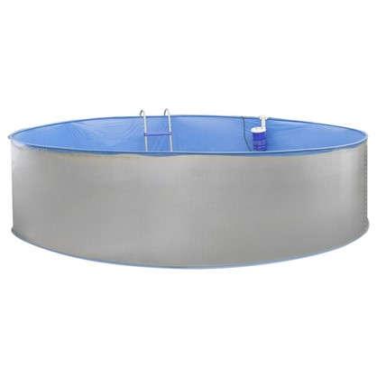 Бассейн каркасный стальной круглый d 350 см