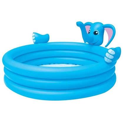Купить Бассейн надувной детский Слон 324 л 152х152х74 см дешевле
