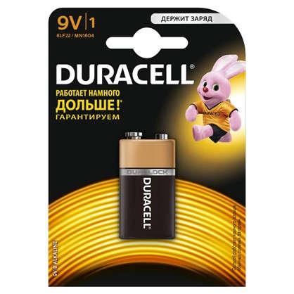 Купить Батарейка алкалиновая Duracell Basic 6LR61-1BL/6LF22-1BL 9V 1шт дешевле