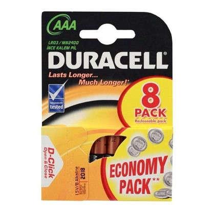 Купить Батарейка алкалиновая Duracell Basic ААА 8 шт. дешевле
