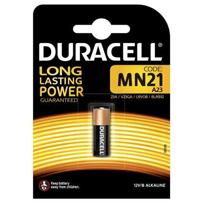 Купить Батарейка алкалиновая Duracell MN21 1шт дешевле