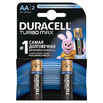 Купить Батарейка алкалиновая Duracell TurboMax АА 2 шт. дешевле