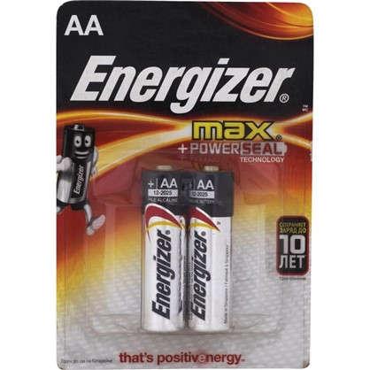 Батарейка алкалиновая Energizer Max AA /LR6 2 шт.