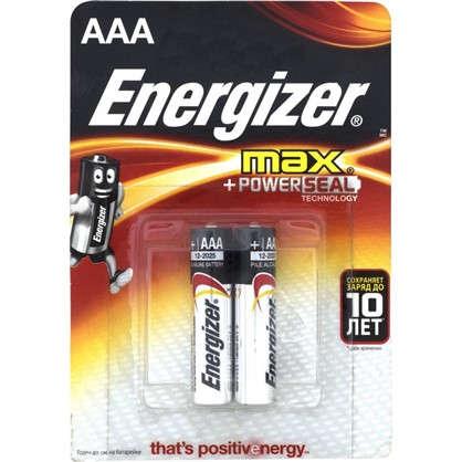 Купить Батарейка алкалиновая Energizer Max AAA/LR03 2 шт. дешевле