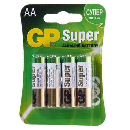 Купить Батарейка алкалиновая GP AA 15А 4 шт. дешевле