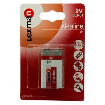 Купить Батарейка алкалиновая крона Lexman 9 В 1 шт. дешевле