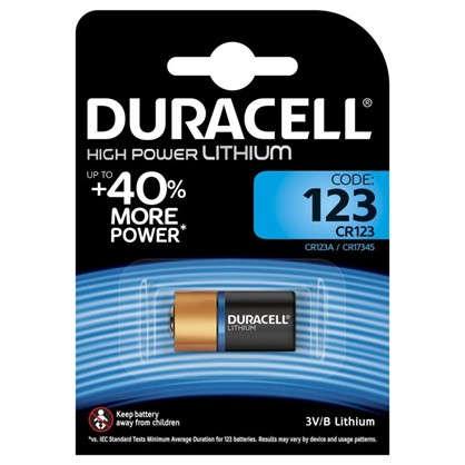 Купить Батарейка литиевая Duracell CR123 ultra дешевле