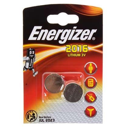Батарейка литиевая Energizer CR 2016 FSB2 2 шт.