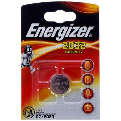 Батарейка литиевая Energizer CR 2032