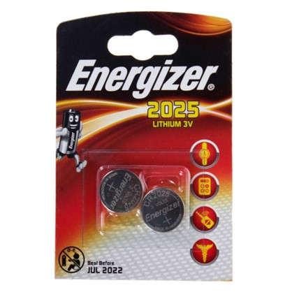 Батарейка литиевая Energizer ENR CR 2025 FSB2 2 шт.