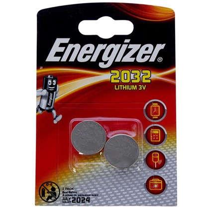 Купить Батарейка литиевая Energizer ENR CR 2032 FSB2 2 шт. дешевле