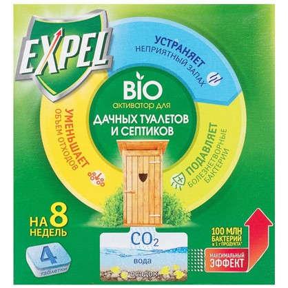 Биоактиватор для септиков Expel 4 таблетки по 20 г