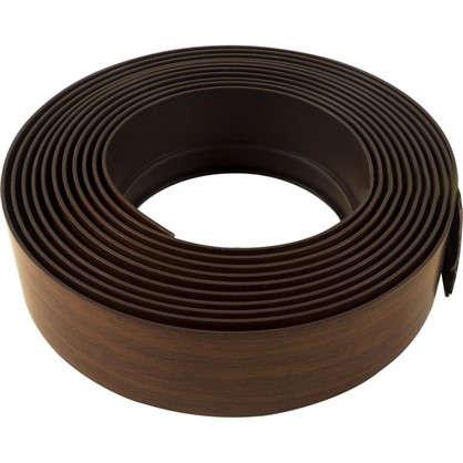 Бленда для пластикового карниза 500 см пластик цвет темный орех
