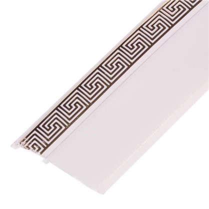 Бленда Греция пластик цвет белый глянец