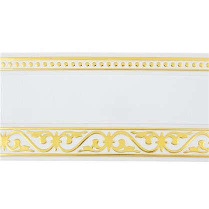 Бленда Монарх 7 см белый глянец
