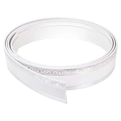 Купить Бленда Монарх 7 см белый глянец/хром дешевле