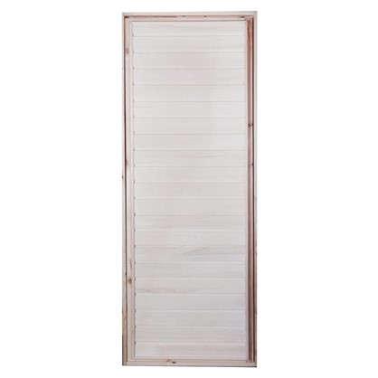 Блок дверной деревянный 40х700х1900 мм осина