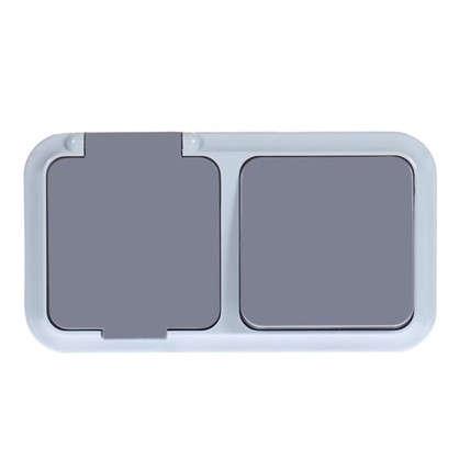 Блок с розеткой ВР-Ц-657(03) брызгозащищённый 1 клавиша IP54