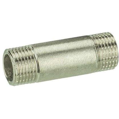 Бочонок Valtec наружная резьба 1/2х60 мм никелированная латунь