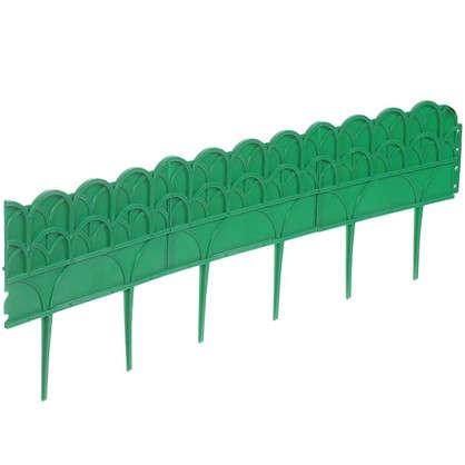 Бордюр №2 3.1 м цвет зелёный