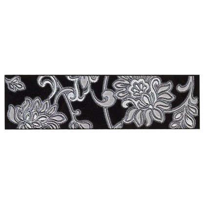 Бордюр Аджанта 20х5.7 см цвет чёрный