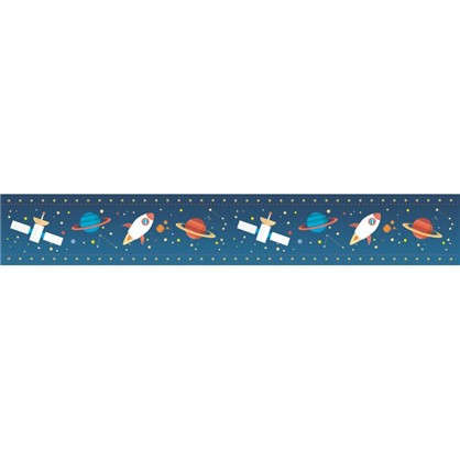 Бордюр бумажный Космос 0.08х0.7 м