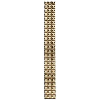 Бордюр Бусинки 10х250 мм цвет золотой