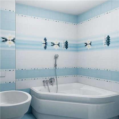 Бордюр Dream 4.5х30 см цвет голубой