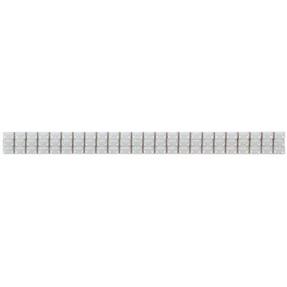 Бордюр Капсула люстрированная 7х250 мм цвет белый