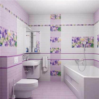 Бордюр Monocolor 2х40 см цвет фиолетовый