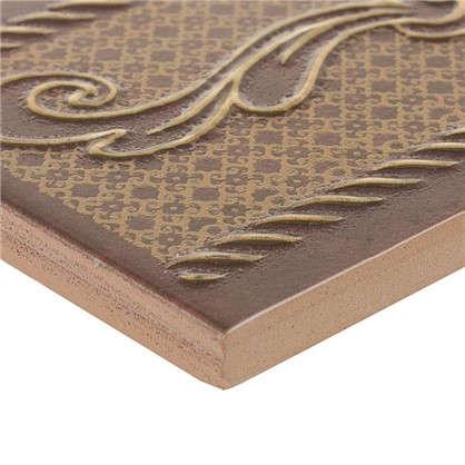 Бордюр Romance 6x25 см цвет коричневый