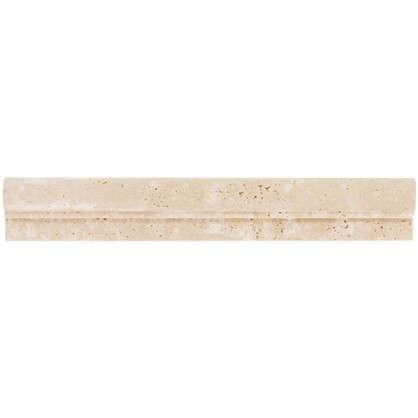 Бордюр Травертин Provance 4.8х30.5 цвет белый