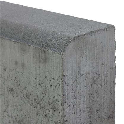 Бордюр тротуарный двухслойный 1000х200х80 мм цвет серый