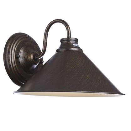 Купить Бра Cone 1xE27x60 Вт металл цвет коричневый дешевле