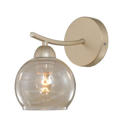 Бра L1127-1A Gold Pearl 1хЕ27х60 Вт цвет бежевый