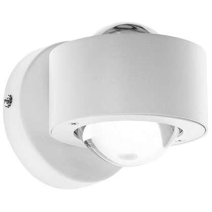 Купить Бра Ono 2.2х2.5 Вт цвет белый прозрачный дешевле