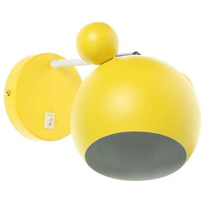 Купить Бра Panda 1хЕ27х40 Вт цвет желтый дешевле