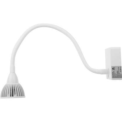 Бра светодиодное Cercare 1x7 Вт металл/пластик цвет белый