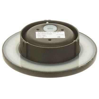 Бра светодиодное Eclissi 6 Вт 560 Лм IP54 цвет черный