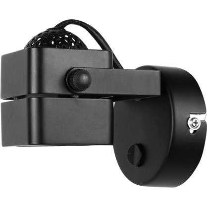 Бра светодиодное Lene 1хGU10х50 Вт металл цвет черный