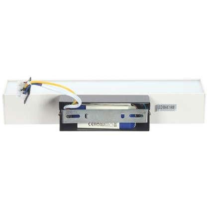 Купить Бра светодиодное Piano 14 Вт IP20 цвет черный/белый дешевле