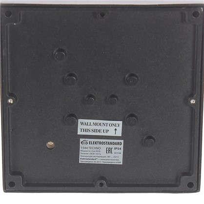 Бра уличное Elektrostandard Techno 1544 1хE27 IP54 цвет черный