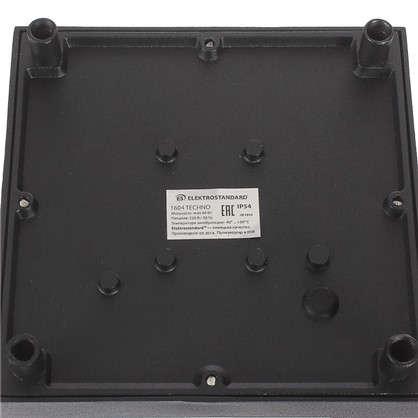 Купить Бра уличное Elektrostandard Techno 1604 1хE27 IP54 цвет черный дешевле