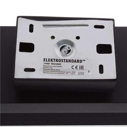 Купить Бра уличное Электростандарт Techno 1449 2xE27x60 Вт цвет черный дешевле